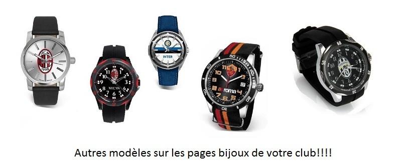 Les montres de votre club préféré